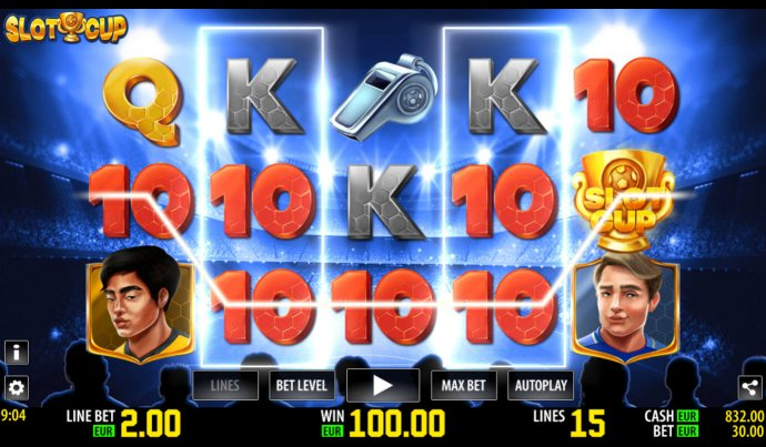 Slot Cup screenshot