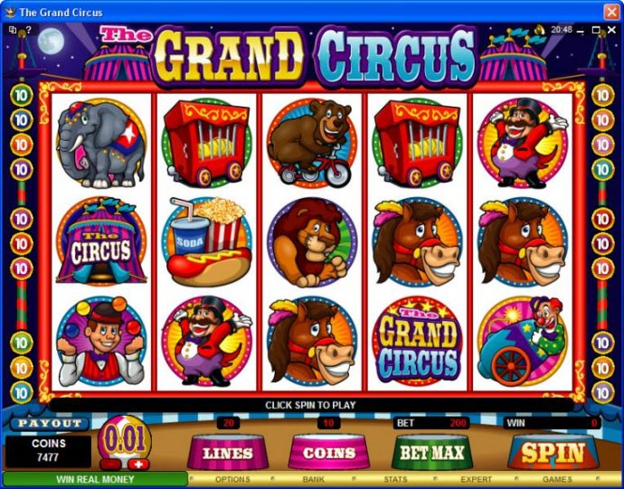 Images of The Grand Circus