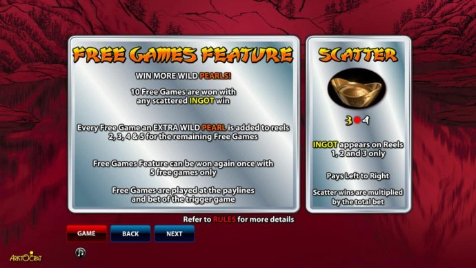 free games and scatter symbol rules - No Deposit Casino Guide