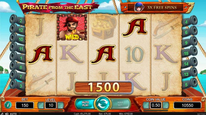No Deposit Casino Guide image of Pirate from the East