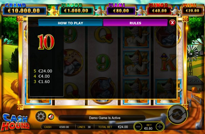No Deposit Casino Guide image of Cash Hound