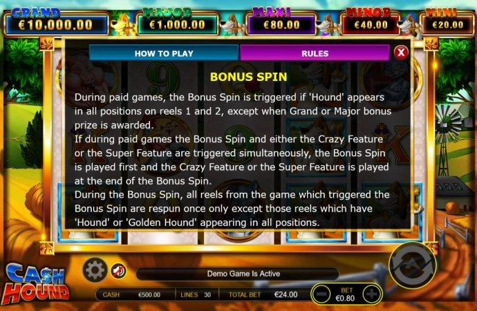 Cash Hound by No Deposit Casino Guide