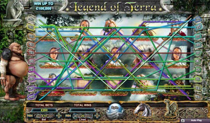 Legend of Terra screenshot