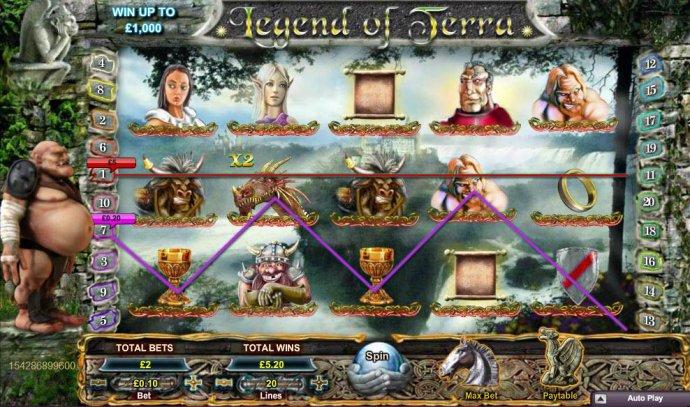Legend of Terra by No Deposit Casino Guide