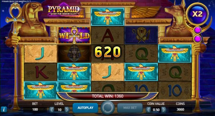 A 620 coin payout added to an already growing jackpot - No Deposit Casino Guide
