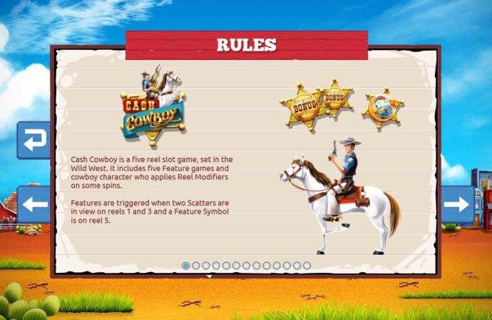 No Deposit Casino Guide image of Cash Cowboy