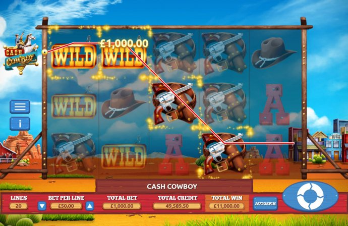 Cash Cowboy by No Deposit Casino Guide