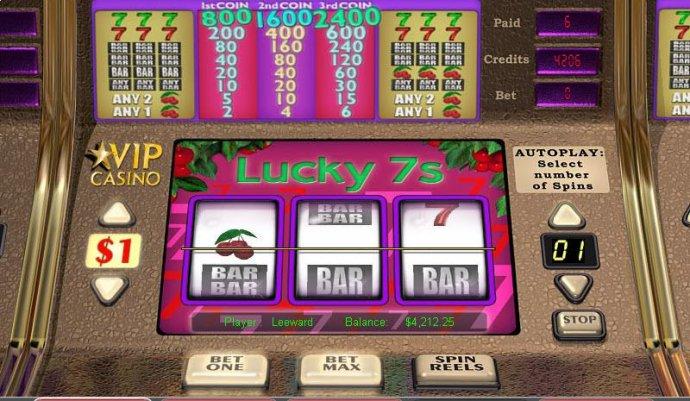 Lucky 7's screenshot