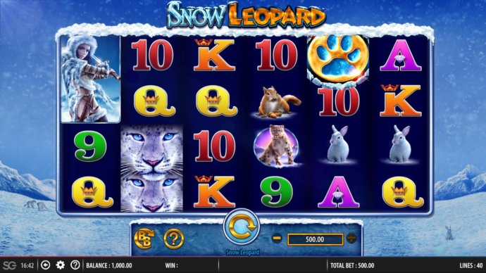 No Deposit Casino Guide image of Snow Leopard