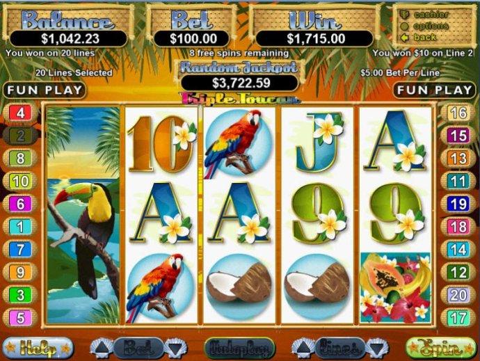 Triple Toucan by No Deposit Casino Guide