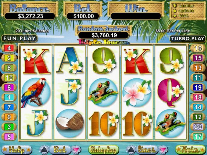 Triple Toucan by No Deposit Casino Guide