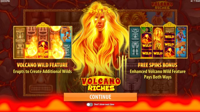 Volcano Riches by No Deposit Casino Guide