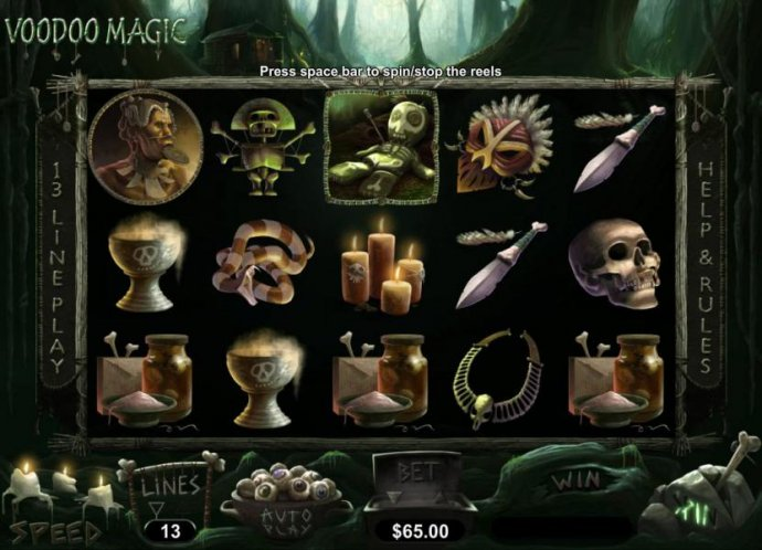 Voodoo Magic by No Deposit Casino Guide