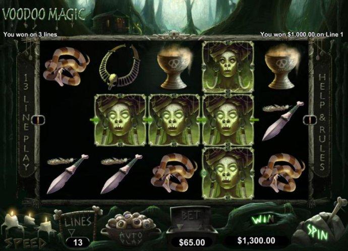 No Deposit Casino Guide image of Voodoo Magic