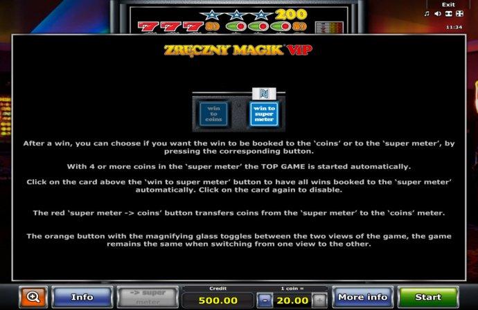 No Deposit Casino Guide image of Zreczny Magik VIP