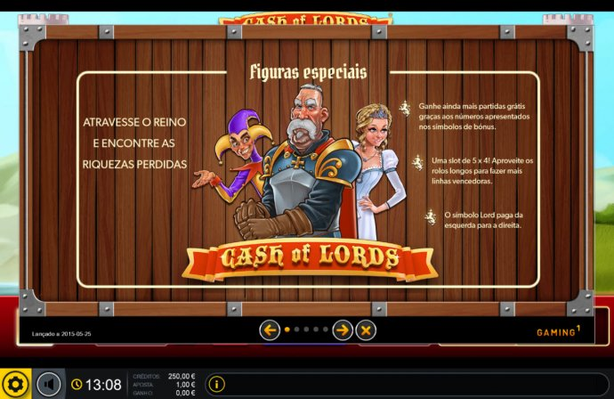 No Deposit Casino Guide image of Cash of Lords