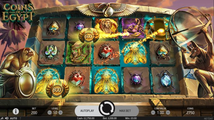 Coins collected by No Deposit Casino Guide