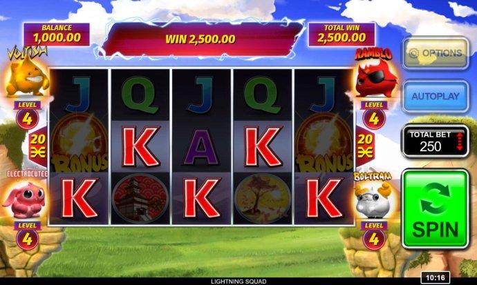 Lightning Squad by No Deposit Casino Guide