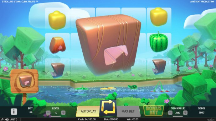 Strolling Staxx Cubic Fruits by No Deposit Casino Guide