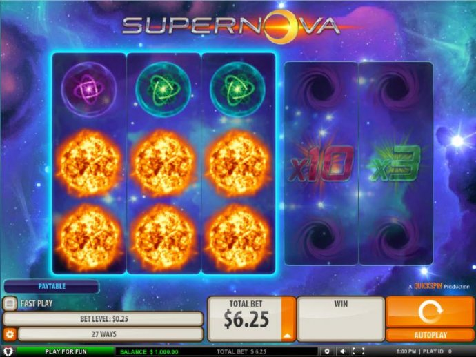 Supernova by No Deposit Casino Guide