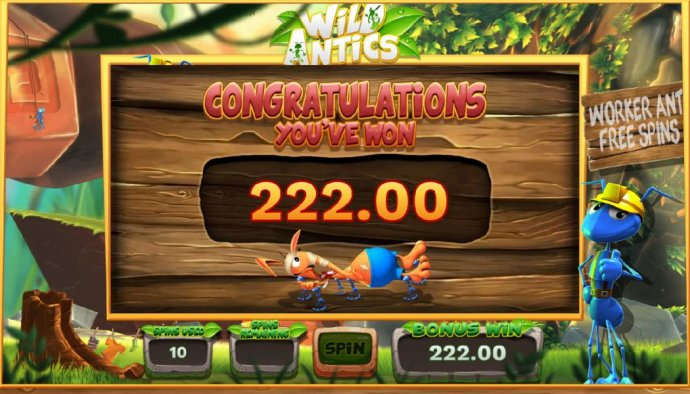 Wild Antics screenshot