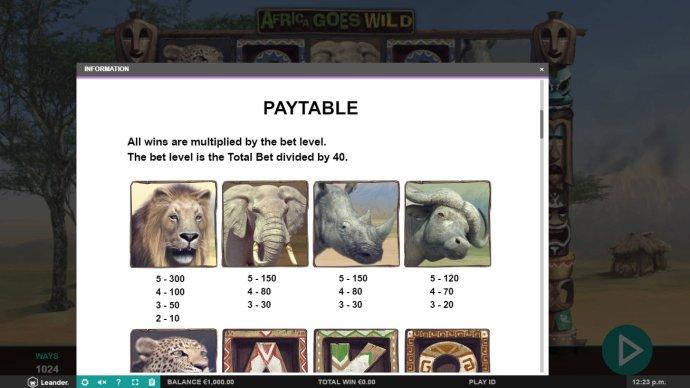 Africa Goes Wild screenshot