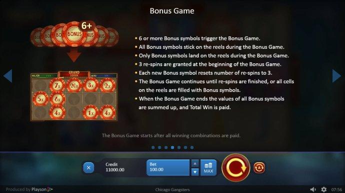 Bonus Game Rules by No Deposit Casino Guide