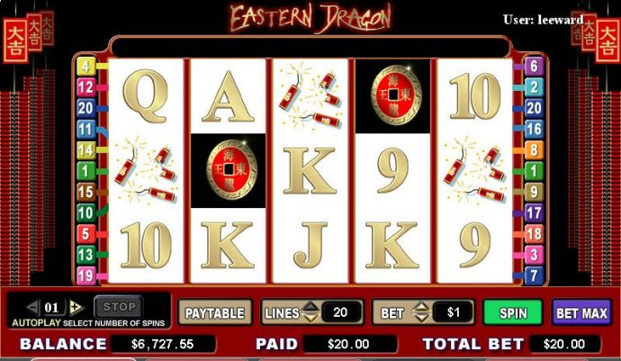 Eastern Dragon by No Deposit Casino Guide