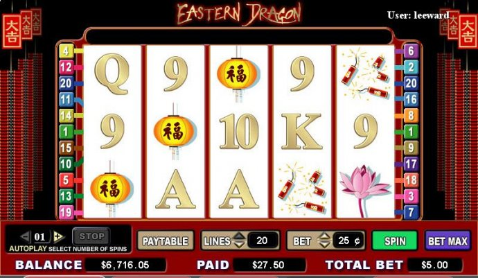 No Deposit Casino Guide image of Eastern Dragon