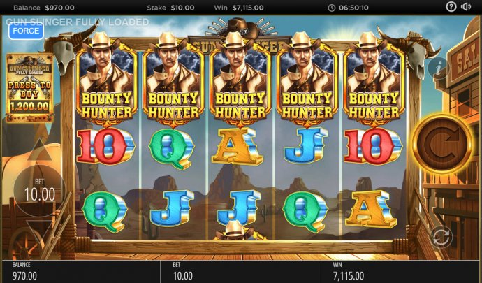 No Deposit Casino Guide image of Gun Slinger Fully Loaded