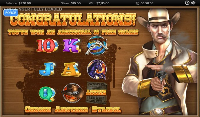 An additional 10 free games awarded by No Deposit Casino Guide