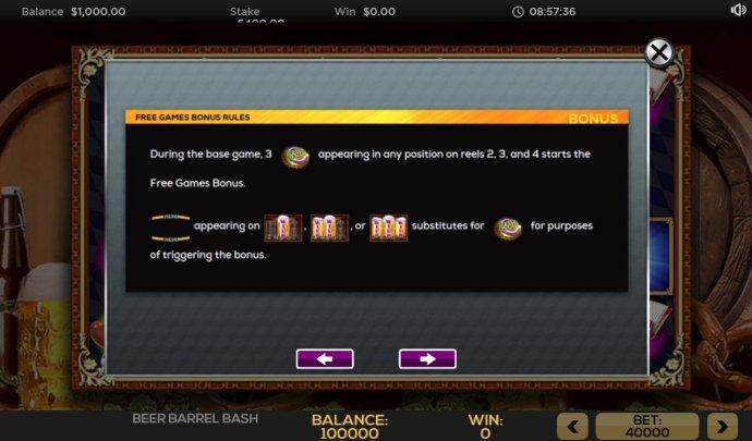 Free Games Bonus Rules - No Deposit Casino Guide