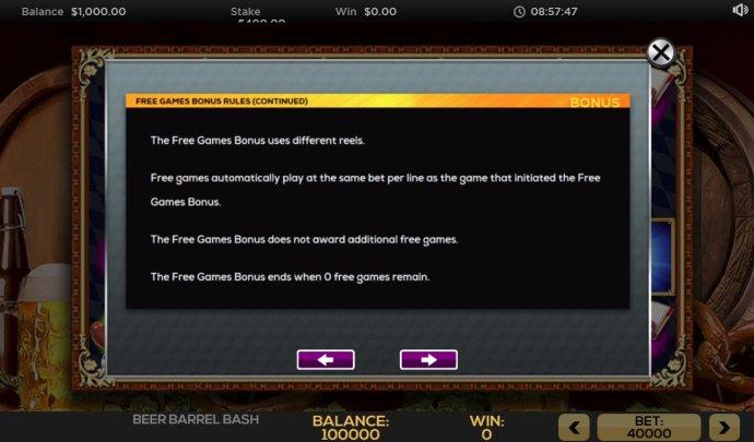 No Deposit Casino Guide image of Beer Barrel Bash