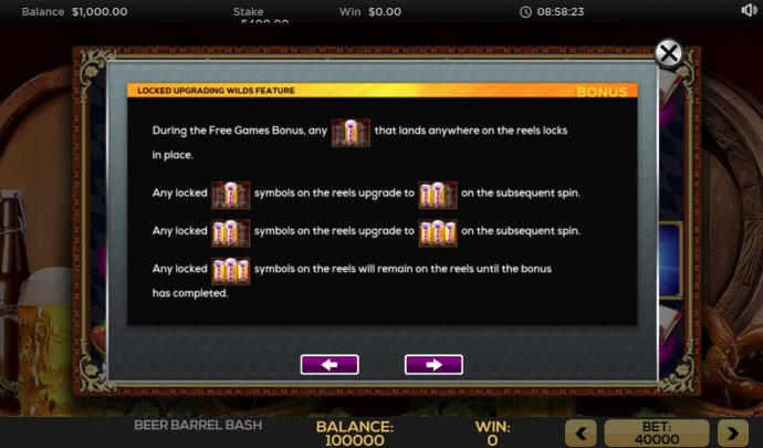 Beer Barrel Bash by No Deposit Casino Guide