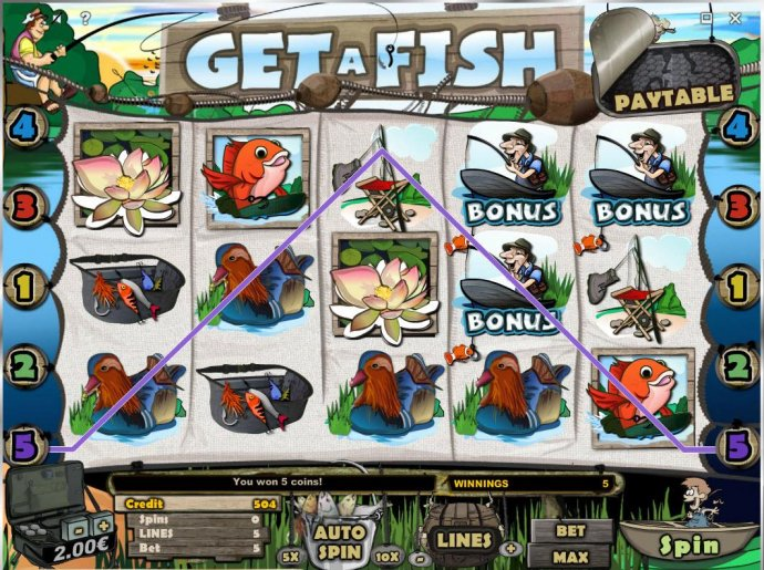 No Deposit Casino Guide image of Get A Fish