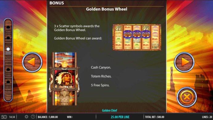 Golden Chief screenshot