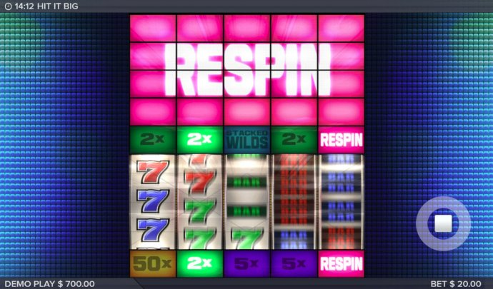 Respin triggered by No Deposit Casino Guide