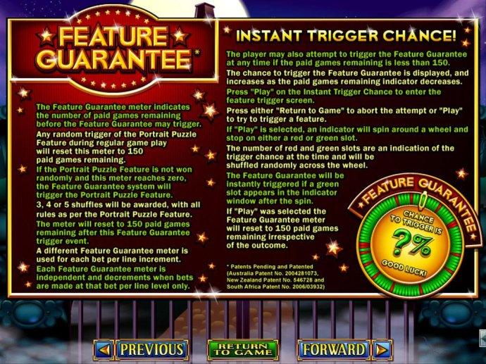No Deposit Casino Guide - Feature Guarantee Rules