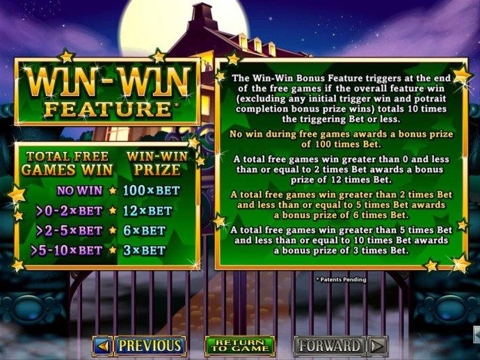 No Deposit Casino Guide - Win-Win Feature Rules