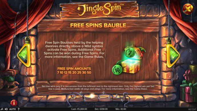 Jingle Spins by No Deposit Casino Guide