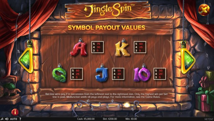 No Deposit Casino Guide image of Jingle Spins