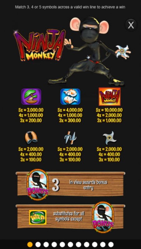 Ninja Monkey screenshot