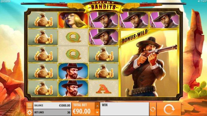 Sticky Bandits by No Deposit Casino Guide