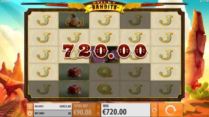 No Deposit Casino Guide - Jack symbols triggers a 720 win