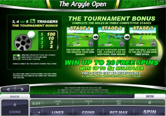 The Argyle Open screenshot