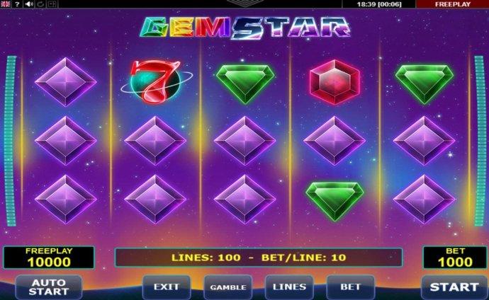 No Deposit Casino Guide image of Gem Star