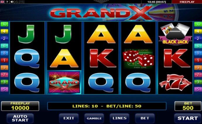 Grand X screenshot