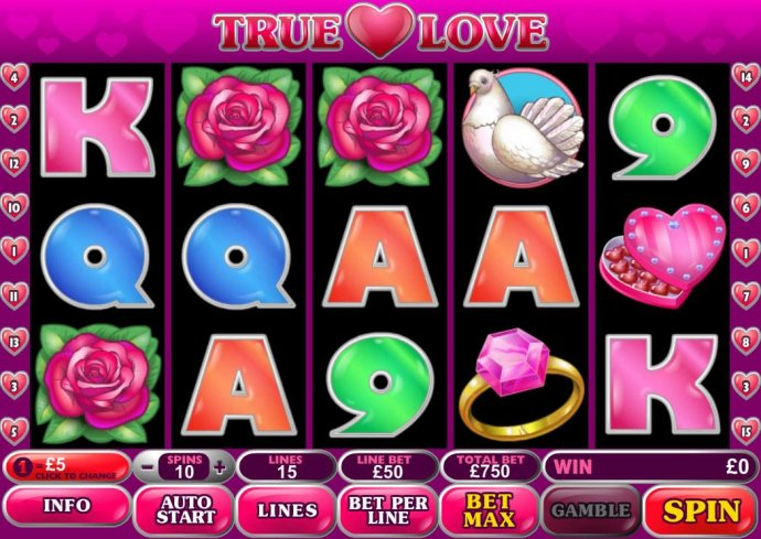 No Deposit Casino Guide image of True Love