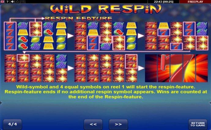 Wild Respin screenshot