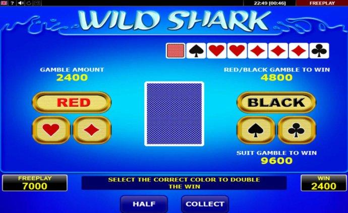 No Deposit Casino Guide image of Wild Shark